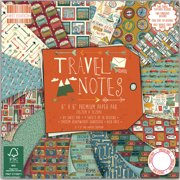 "First Edition Premium Paper Pad 6""X6"" 64/Pkg-Travel Notes, Pk 1, Trimcraft"