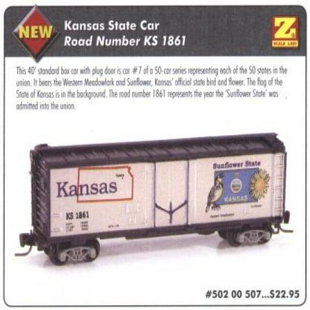 MicroTrains Z State of the Union Series - Kansas - 40' Box Plug -
