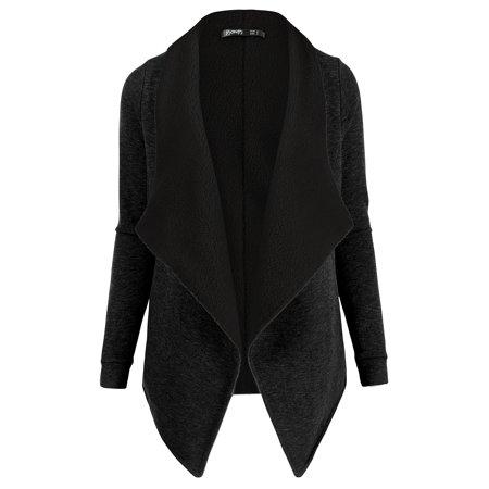 Cotton Cardigan Jacket - Thanth Womens Open Front Fleece Cardigan Jackets
