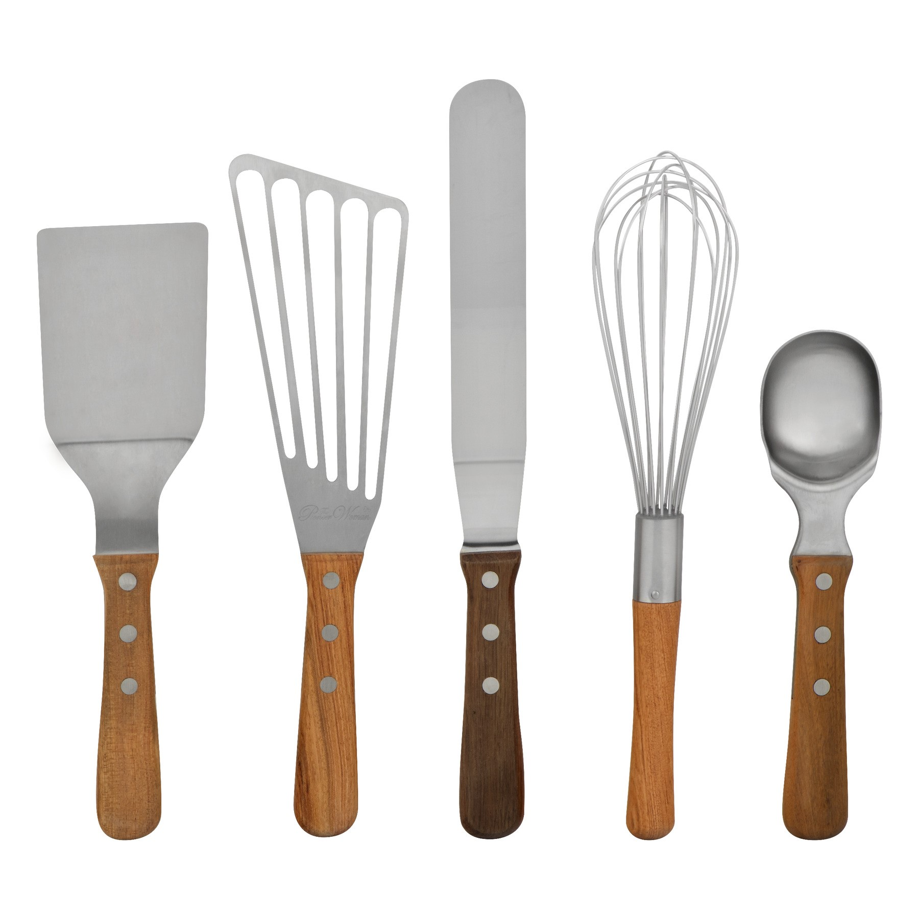The Pioneer Woman Cowboy Rustic Bakers Essentials - 5 PC, 5.0 PIECE(S)
