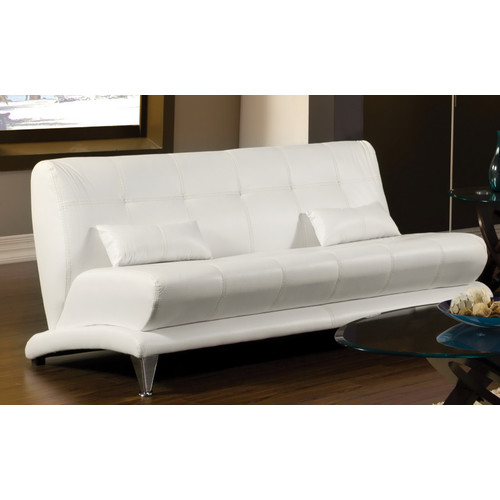 Hokku Designs Sewell Leatherette Sofa