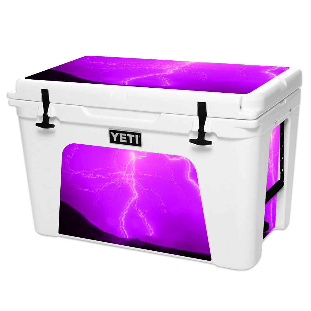 MightySkins Skin For YETI 110 qt Cooler Lid, 125 160 75 105 | Protective, Durable, and Unique Vinyl Decal wrap cover Easy To Apply, Remove, Change Styles Made in the USA