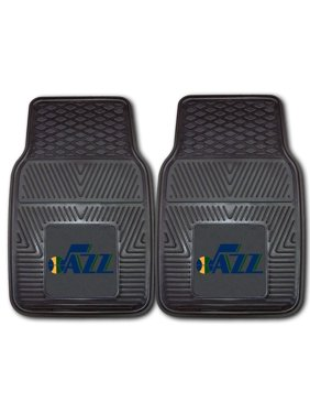 "Utah Jazz 27"" x 18"" 2-Pack Vinyl Car Mat Set"