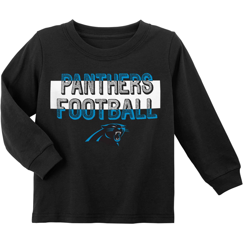 NFL Carolina Panthers Toddler Long Sleeve Tee