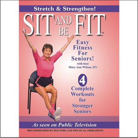 Sit And Be Fit Stretch And Strength 2 Dvd Set
