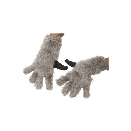 Rocket Raccoon Adult Gloves - Raccoon Gloves