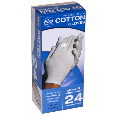 Poly Cotton Canvas Gloves - Cara Incorporated Cotton Glove Dispenser Box Large