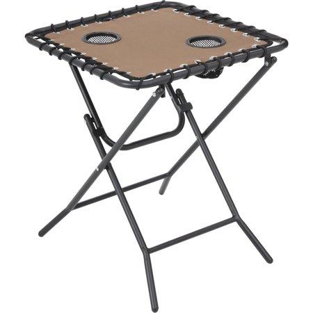 Tan Folding Side Table Zd-1022-T