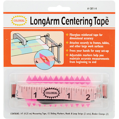 Colonial LongArm Centering Tape