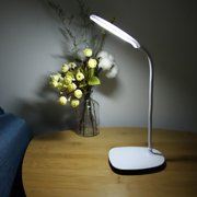 Mgaxyff LED Reading Lamp,LED USB Flexible Table Lamp Tabletop Bedside Touch Switch Dimmable Reading Studying Light,LED Light