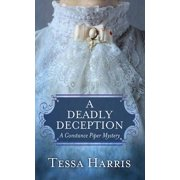 A Deadly Deception (Hardcover)(Large Print)