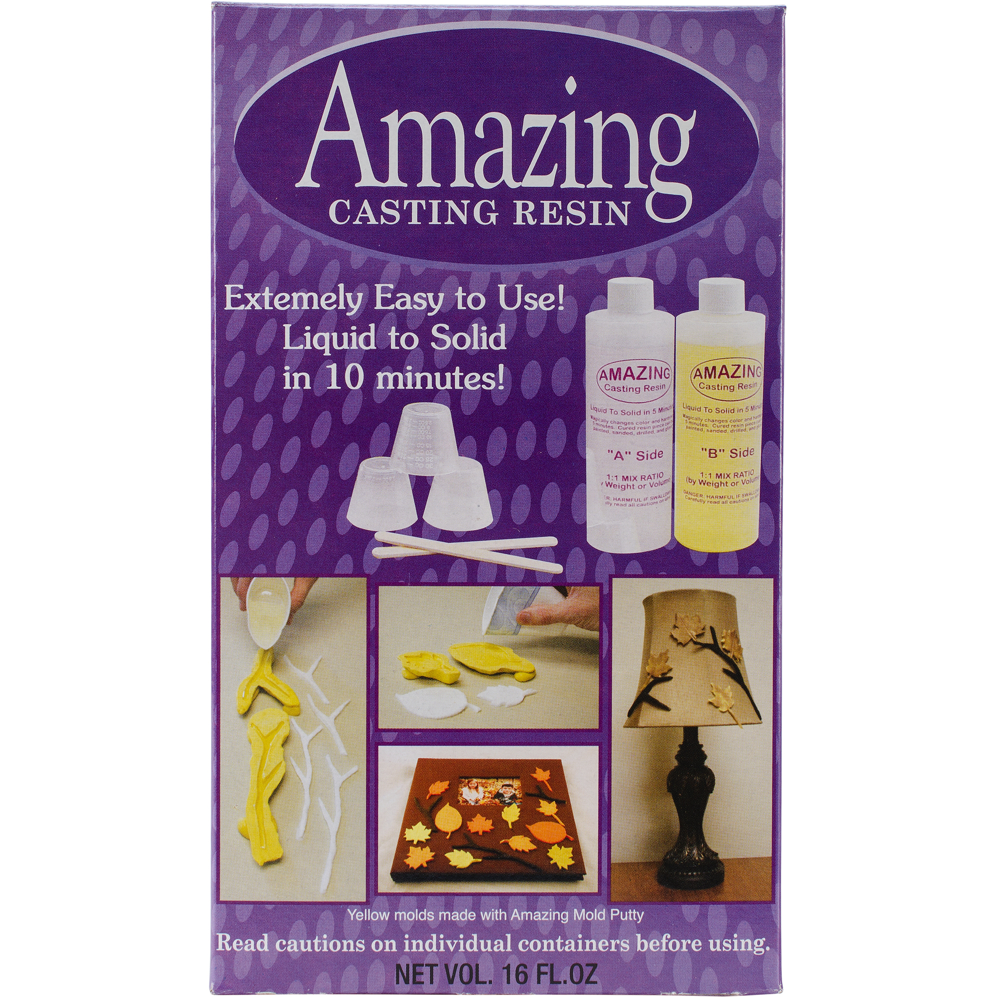 Amazing Casting Resin Kit, 16 oz