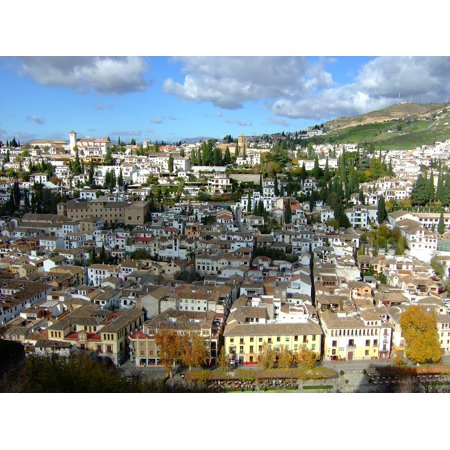 Canvas Print Andalusia Spain City Alhambra Granada Stretched Canvas 10 x 14](Alhambra Party City)
