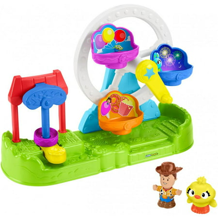 Little People Disney Pixar Toy Story Ferris Wheel with Woody & Ducky