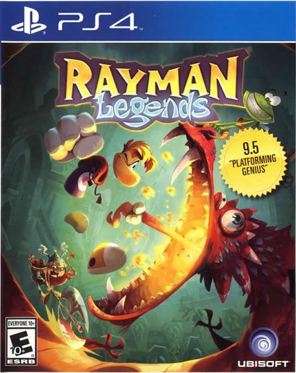 Rayman Legends Playstation 4 by Ubisoft