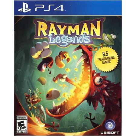 Ubisoft Rayman Legends (PS4) (Rayman Legends Best Version)