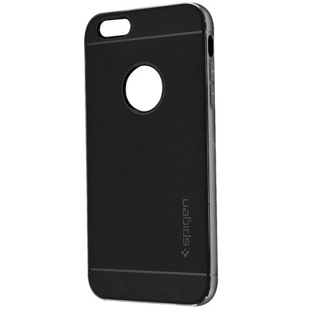 size 40 365cb 96a23 Spigen Neo Hybrid Metal Protective Case Cover for iPhone 6s Plus 6 Plus -  Black (Refurbished)