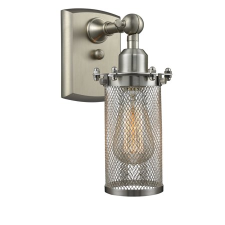 "Innovations 1-LT LED Kingsbury 5"" Sconce - Brushed Satin Nickel - 516-1W-SN-220-LED"