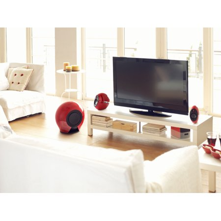 Edifier e235 Bluetooth Speaker System - Luna E 2.1 Speakers with Wireless Subwoofer - Remote Control, Optical Input - 234 Watts RMS - image 3 of 7