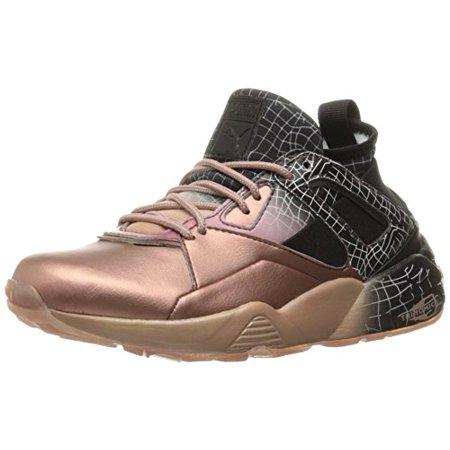 PUMA Women's B.O.G Sock RG Wn's Cross Trainer Shoe, Rose GoldPuma Black, 5.5 M