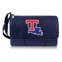Louisiana Tech Bulldogs Blanket Tote by Picnic Time Navy 820 00 138 854 0