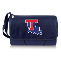 Louisiana Tech Bulldogs Outdoor Picnic Blanket Tote - Navy - No Size