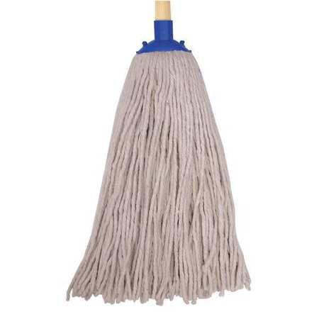 TOUGH GUY String Wet Mop Kit,12 oz.,Cotton 16W215