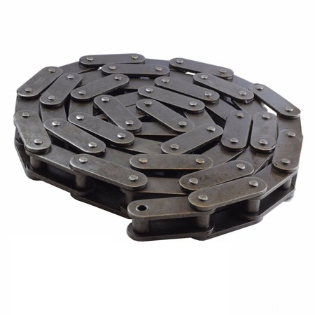 C2080 Conveyor Roller Chain 10 Feet with 1 Connecting (Single Strand Roller Chain)