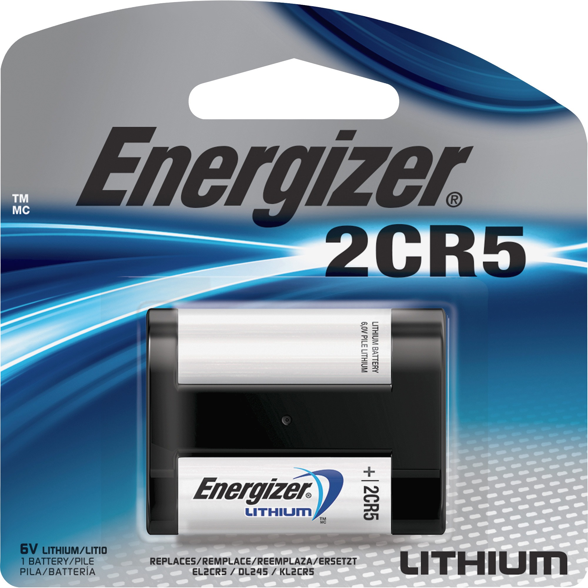 Energizer, EVEEL2CR5BPCT, 2CR5 e2 Lithium Photo 6-Volt Battery, 24 / Carton