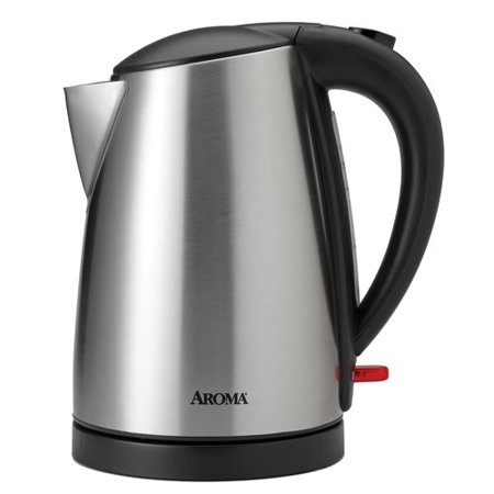 sale aroma stainless steel electric kettle. Black Bedroom Furniture Sets. Home Design Ideas