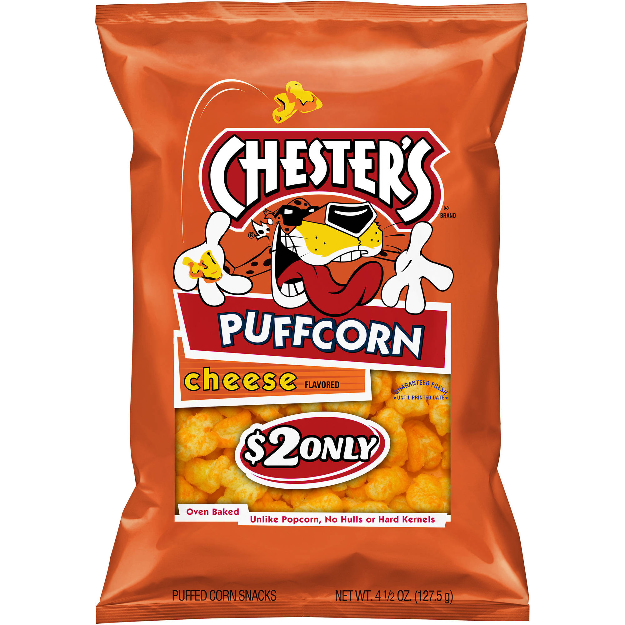 Chester's Cheese Flavored Puffcorn Snacks, 4.5 oz