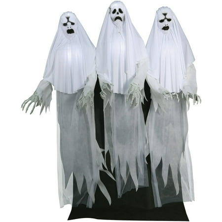 Haunting Ghost Trio Animated Halloween Decoration - Funny Animated Halloween Pics