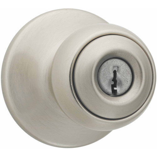 Kwikset Satin Nickel Polo Entry Knob