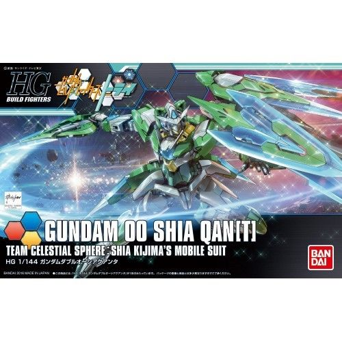 Gundam Build Fighters Try 00 Shia Qanta[T] Custom HG 1/144 Model Kit