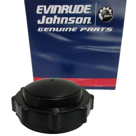 Johnson/Evinrude/OMC New OEM Metal Fuel Tank Gas Can Cap No Vent 0763525; 763525 New Oem Fuel Cap