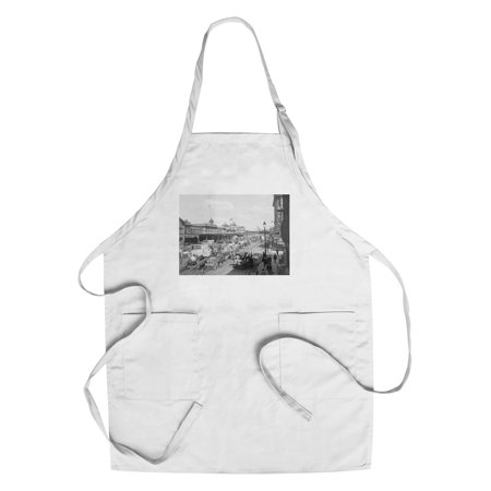 West Street in New York City Photograph (Cotton/Polyester Chef's Apron) (Party City West Broad Street)