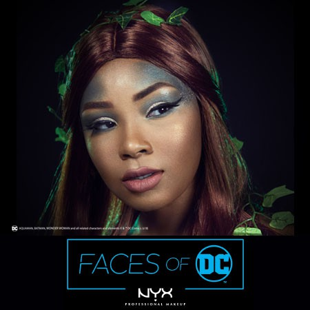 Faces of DC: Poison Ivy Halloween Makeup by @aaliyahjay & NYX Professional Makeup