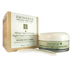 Eminence Monoi Age Corr. Night Cream for Face & Neck 2 oz