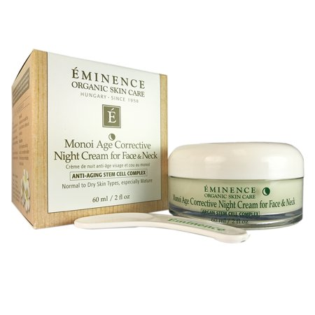 Eminence Monoi Age Corr. Night Cream for Face & Neck 2 oz