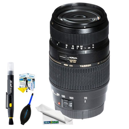 Tamron Zoom Telephoto AF 70-300mm f/4-5.6 Di LD Macro Autofocus Lens for Canon EOS + Expo Basic Kit - Walmart.com
