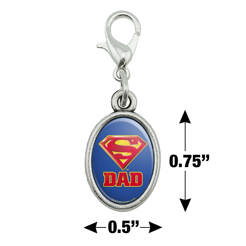 GRAPHICS /& MORE Superman Super Dad Shield Logo Ceiling Fan and Light Pull Chain