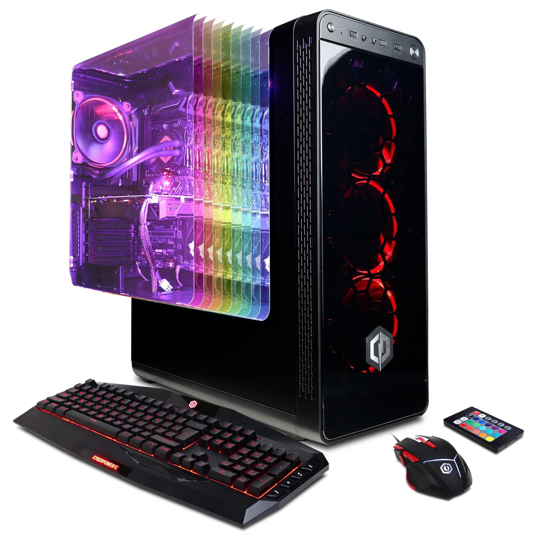 CYBERPOWERPC Gamer Supreme Liquid Cool SLC8880CPG w/ Intel i7-8700K, Nvidia GeForce GTX 1070 Ti 8GB, 16GB Memory, 240GB SSD, 3TB HD and Windows 10 Home 64-bit Gaming Computer