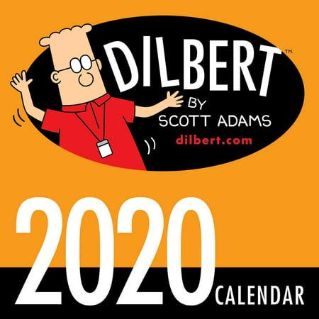 Dilbert Halloween Comic (Dilbert 2020 Mini Wall)