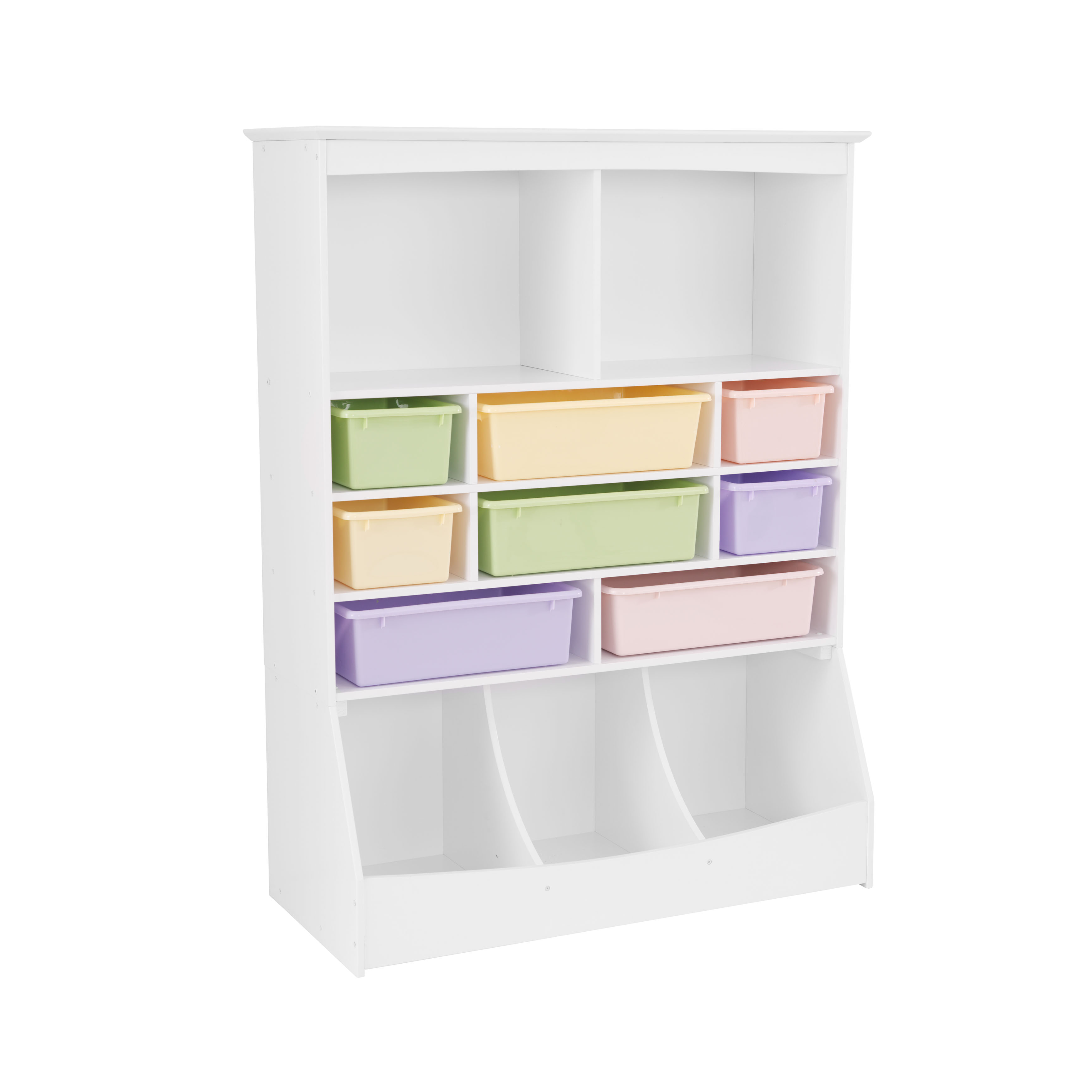kidkraft wall storage unit - white - walmart