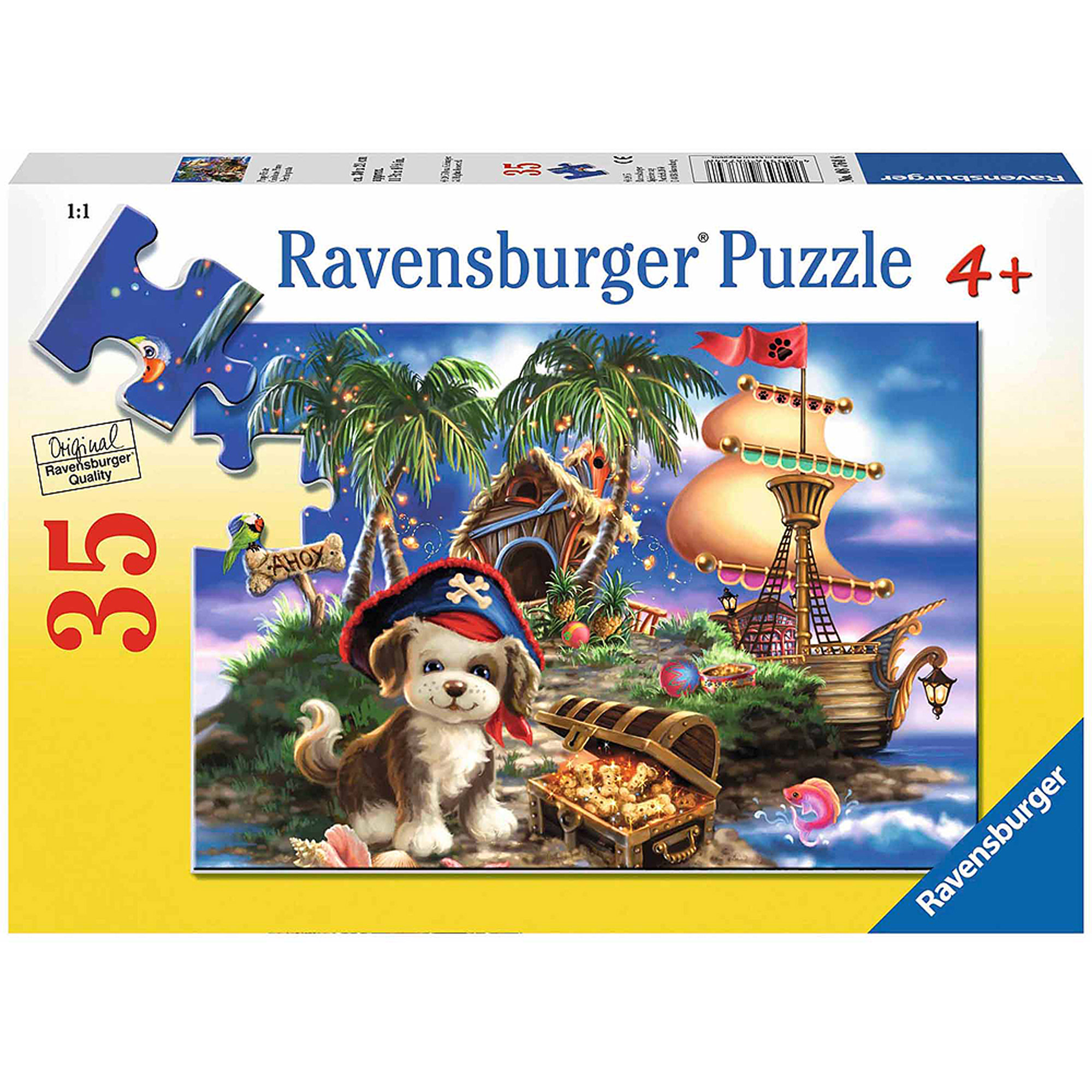 Ravensburger Puppy Pirate