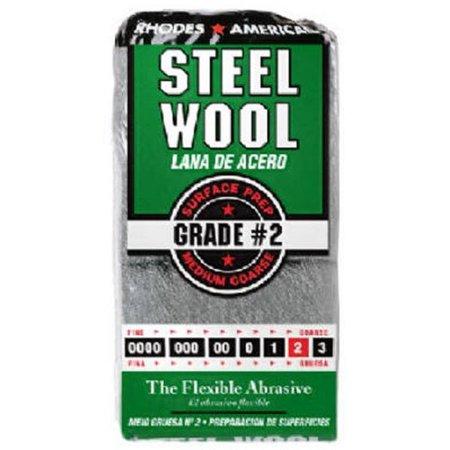 Rhodes America 12-Pack Steel Wool - Lot of 2 Rhodes Steel Wool