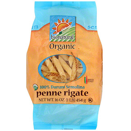 Bionaturae Organic Penne Rigate, 16 oz (Pack of 12)