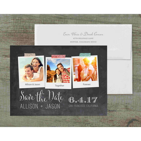 Polaroid Deluxe Save the Date