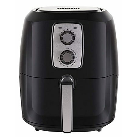 Emerald Air Fryer 1800 Watts with Rapid Air Technology, Slide Out Pan, & Detachable Basket 5.2L Capacity (1805)