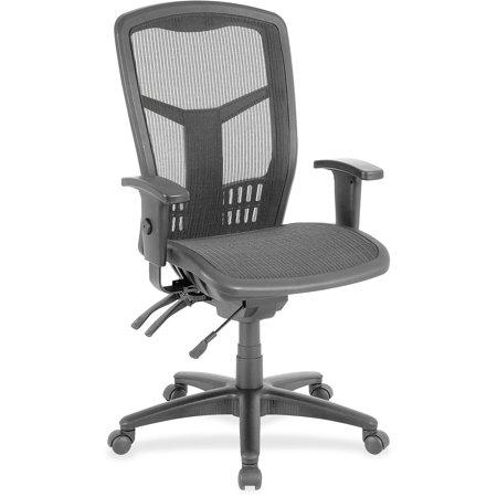 Lorell, LLR86905, Executive Mesh High-Back Chair, 1 Each